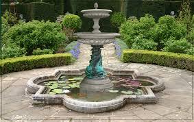 garden fountains in home design furniture decorating
