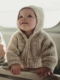 knitting pattern baby sweater chunky yarn little one hoodie knitting patterns in the loop knitting