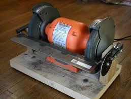 Uses Of A Bench Grinder - ez adjust bench grinder table 5 steps with pictures