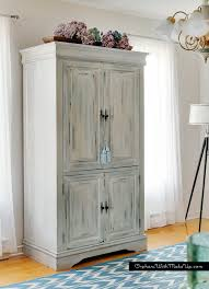 Armoire Furniture Plans Upcycled Media Cabinet Into Armoire Hometalk