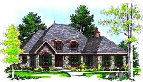 traditional french country cottage 8914ah architectural