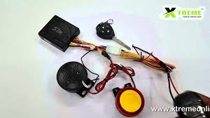 talking anti theft security alarm system with double remote for