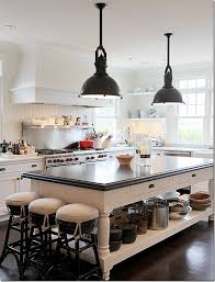 Black Kitchen Lights Modern Country Style Modern Country House Tour In White Black