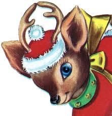 christmas reindeer retro christmas reindeer image the graphics fairy