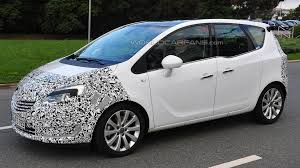 opel 2014 2014 opel meriva facelift spied up close