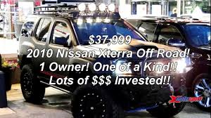 nissan xterra 2015 lifted 2010 xterra one of a kind lots of invested 37 999 youtube