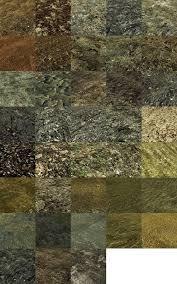 new ground textures of rock and other