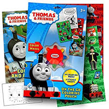 amazon thomas u0026 friends track coloring