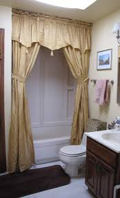 shower curtains with tie backs simple interior design ideas