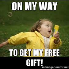 Birthday Gift Meme - ulta free urban decay eyeshadow for september birthdays free
