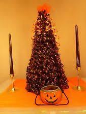 Decorated Halloween Trees Lighted Halloween Tree Ebay