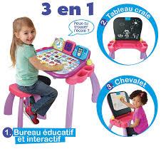 bureau 3 en 1 vtech 154655 apprendre à lire et à écrire magi bureau interactif
