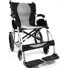 karman s ergo lite ultra light ergonomic transport chair