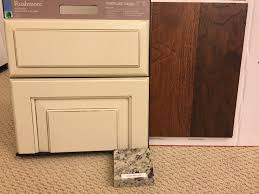 rushmore cabinets with painted hazelnut glaze in the kitchen with