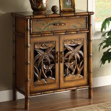 tropical palm tree storage cabinet tropical storage cabinets