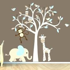 Nursery Monkey Wall Decals Tree Wall Decals For As Well As Monkey Wall Decor For Nursery