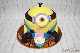 minion cupcake cake minion birthday cake minion cupcake cake sugar spice bakery