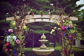 interior design creative enchanted forest theme party