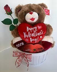 valentines day teddy dan 2018 valentines day gift basket sweetheart teddy