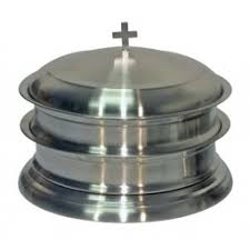 communion plates steel communion ware stackable trays bread plates