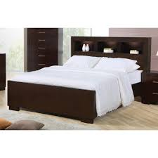 king headboard with lights coaster jessica king contemporary bed with storage headboard and