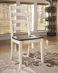 cottage style dining room furniture white brown traditional side chair 2pc dining room vintage style