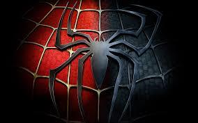 image gallery black red spiderman symbol