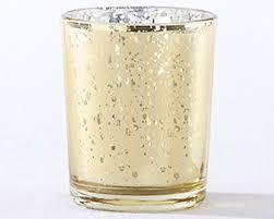 glass tea light holders gold mercury glass tea light holder set of 4 kate aspen