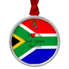 south african flag holiday decorations u0026 christmas décor zazzle