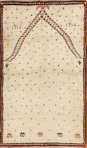 prayer design antique tribal persian gabbeh rug 49102 by nazmiyal