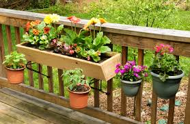 Porch Rail Flower Boxes by Just Rock It Deck Brackets