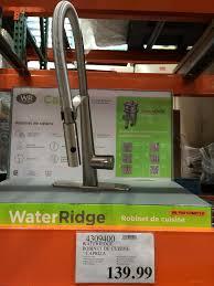 Water Ridge Kitchen Faucet by Costco Ca Bio Bidet Motion Sensor High Arc Kitchen Faucet 159 99