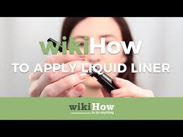 5 simple ways to apply eyeliner wikihow