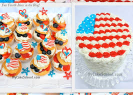 adorable fourth of july cake u0026 cupcake ideas tutorial my cake
