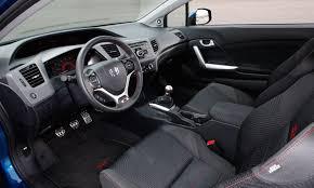Honda Civic Si Interior 2014 Honda Civic Si Interior Top Auto Magazine