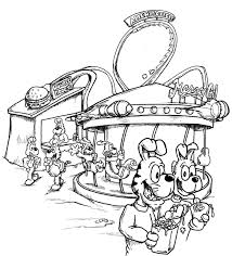 carnival coloring pages 12350