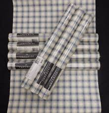 details about country blue white plaid wallpaper imperial kb6023