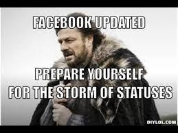 Winter Is Coming Meme Generator - winter is coming meme generator facebook updated prepare