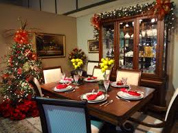 decorating dining table for christmas with design picture 5896