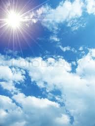 sky sun cloud heaven background stock photo colourbox