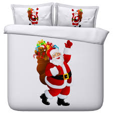 astonishing santa claus bed sheets 39 in modern duvet covers with