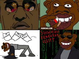 Blue Pill Red Pill Meme - tyrone takes the red pill humoar com