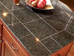 Kitchen Countertop Tile Design Ideas Kitchen Modern Look Tile Countertop For Bath And Kitchen
