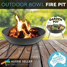 ebay patio heater 58cm fire pit patio heater new open fireplace large firepit garden