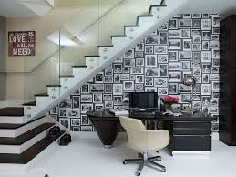 Home Decorating Ideas Black And White 30 Black And White Home Offices That Leave You Spellbound