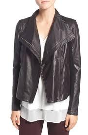 trouve sweater trouvé leather moto jacket nordstrom