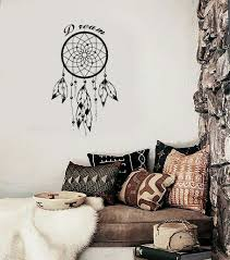 Bedroom Wall Decals For Adults Wall Decal Dreamcatcher Dream Catcher Native American Quote Dream