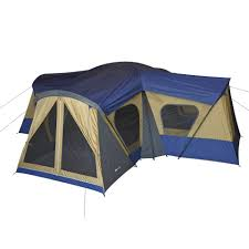 Outdoor Camping Rugs by Ozark Trail 14 Person 4 Room Base Camp Tent Walmart Com