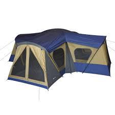 ozark trail 14 person 4 room base camp tent walmart com