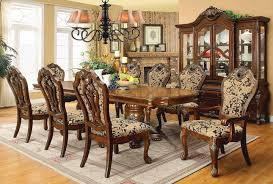 Formal Dining Room Furniture Sets Traditional Style Formal Dining Room Furniture Set
